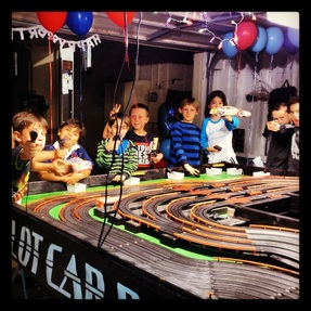 Testimonials photos racing party events 562 773 5877 for Party entertainment ideas adults