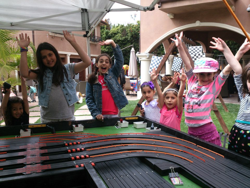 Photo gallery 2 racing party events 562 773 5877 for Party entertainment ideas for adults